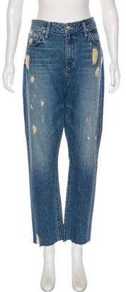 Lovers + Friends Distressed High-Rise Jeans w/ Tags