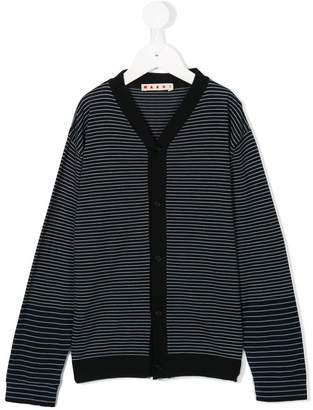 Marni striped cardigan