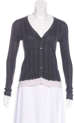 Prada Tie-Dye Knit Cardigan