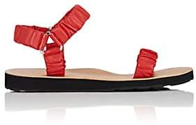 The Row Women's Egon Leather Sandals - Cayenne