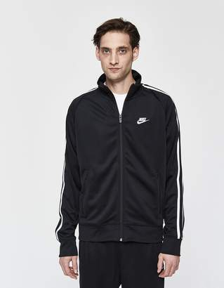 Nike Track Poly Jacket in Black