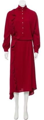 Golden Goose Long Sleeve Maxi Dress
