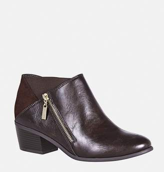 Avenue Haven Double Zipper Ankle Boot
