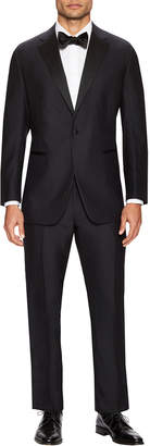 Martin Greenfield Clothiers Martin Greenfield Classic Fit Solid Notch Lapel Tuxedo