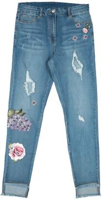 MonnaLisa CHIC Denim pants - Item 42752395HL
