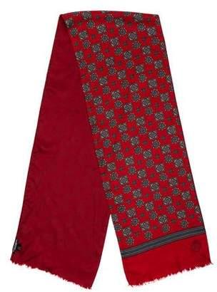 Dolce & Gabbana Mandala Print Silk Scarf