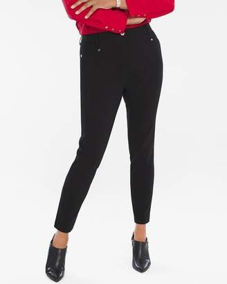 So Slimming Diamond Fit Refined Ponte Ankle Pants