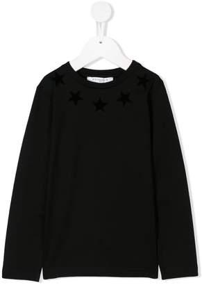 Givenchy Kids star print tee