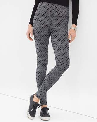 Zenergy So Slimming Herringbone Dot Leggings