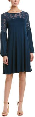 Three Dots Lace Shift Dress