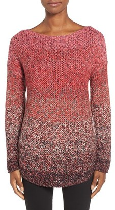 NIC+ZOE 'Blushberry' Sweater $148 thestylecure.com
