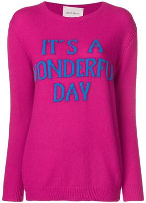 Alberta Ferretti It's a wonderful day sweater