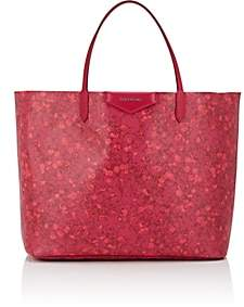 Givenchy Women's Antigona Large Canvas Tote Bag - Fuschia Baby Breath