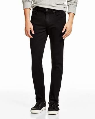 Paige Transcend Lennox Skinny Fit Jeans in Black
