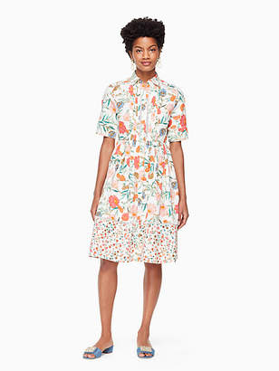 Kate Spade Blossom poplin shirtdress