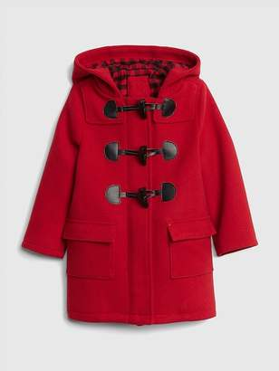 Gap Flannel-Lined Duffle Coat