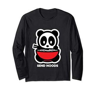 Send Noods Panda Bambu Brand T-Shirt Noodles Asian Food