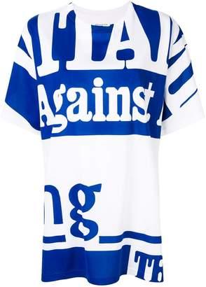 Maison Margiela slogan colour-block T-shirt