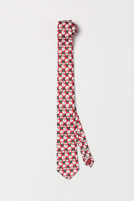 H&M Patterned Tie - Red