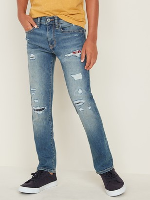 Old Navy Karate Built-In Flex Max Distressed Jeans for Boys