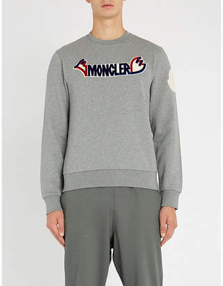 Moncler 2 1952 cotton-jersey sweatshirt