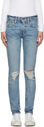 Levi's Blue 505C Jeans $95 thestylecure.com