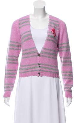 Lucien Pellat-Finet Striped Cashmere Cardigan