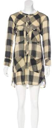 Etoile Isabel Marant Patterned Button-Up Dress