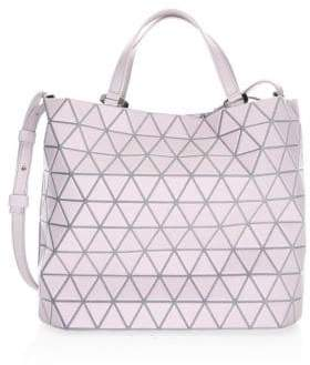 Bao Bao Issey Miyake Crystal Matte Leather Tote