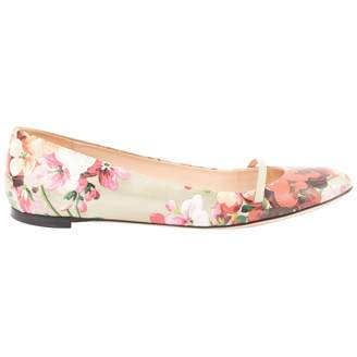 Gucci Leather ballet flats