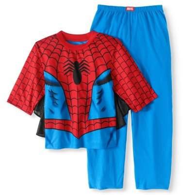 Spider-Man Boys' Costume Play 2 Piece Pajama Sleep Set