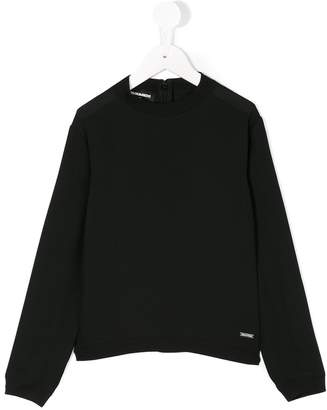 DSQUARED2 crew neck sweatshirt