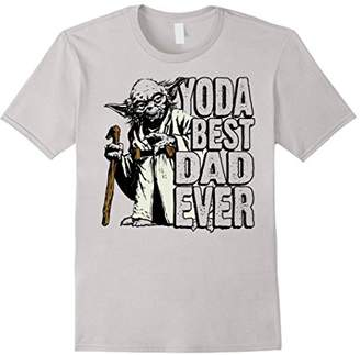 Star Wars Yoda Best Dad Ever Awesome Father Graphic T-Shirt
