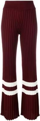 Golden Goose stripe trim trousers