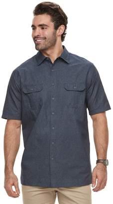 Croft & Barrow Big & Tall Regular-Fit Outdoor Quick-Dry Button-Down Shirt