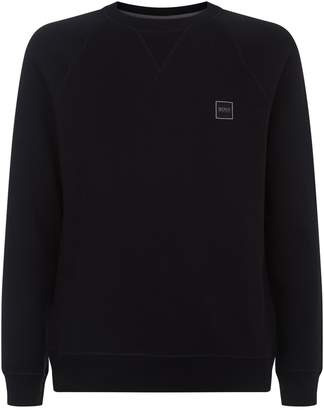HUGO BOSS Logo Patch Sweatshirt