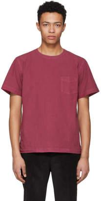 Schnaydermans Red Poplin One Pocket T-Shirt