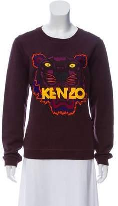 Kenzo Embroidered Colorblock Sweatshirt