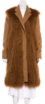 Stella McCartney Erindale Vegan Shearling Coat
