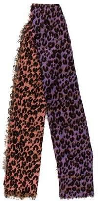 Louis Vuitton Graffiti Leopard Stole