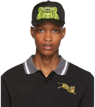 Kenzo Black Limited Edition High Summer Tiger Cap