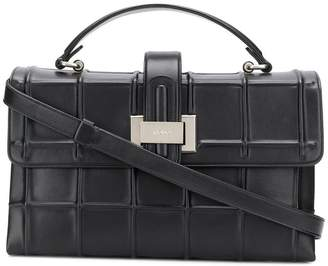 Rodo embossed check tote