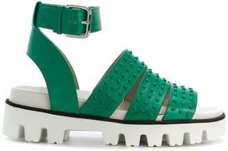 RED Valentino studded platform sandals