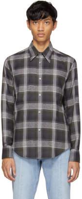 Stella McCartney Grey Plaid Shirt