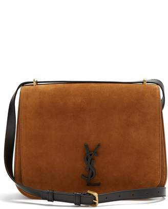 Saint Laurent Spontini medium suede bag