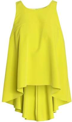 Milly Draped Crepe Top