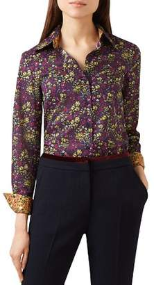 Hobbs London Celia Floral Print Shirt - 100% Exclusive