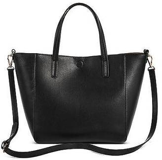 Merona; Women's Small Reversible Faux Leather Tote - Merona; $29.99 thestylecure.com