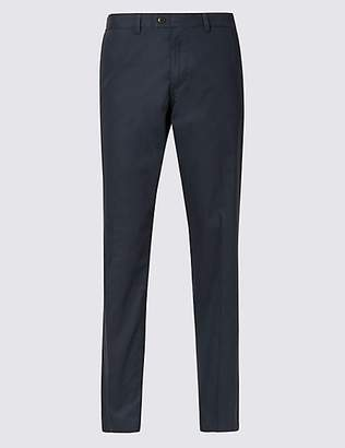 M&S Collection Slim Fit Cotton Rich Chinos