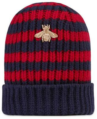 Gucci Striped wool hat